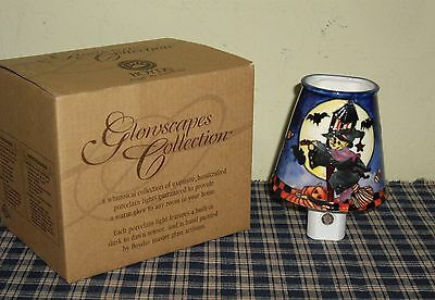 Boyds Bears Glowscapes Halloween Night Light Zelda Goes Bump in the Night NEW