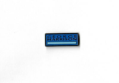 Beatles George Harrison 1987 Dark Horse Records Ltd. Edition Promotional Pinback