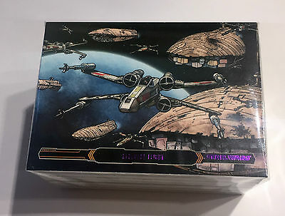 Star Wars Illustrated The Empire Strikes Back Purple Parallel 100 Card Set