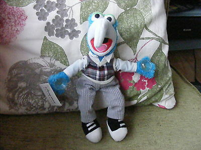 """Disney The Muppets  Gonzo Disney Store   Plush  Soft Toy With Tag 10"""""""