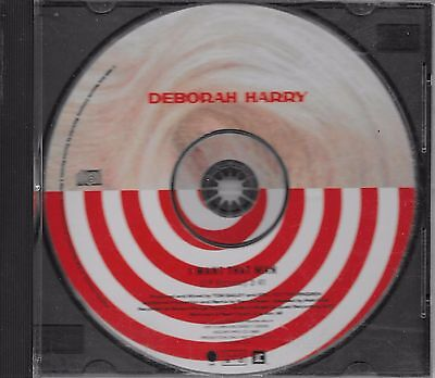 DEBBY HARRY  I Want That Man  rare promo PICTURE DISC CD single  BLONDIE
