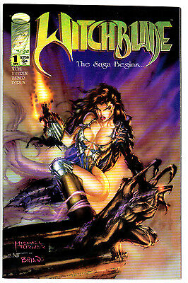 WITCHBLADE #1 NM- Awesome Michael Turner Art! Collector's Item 1st Printing 1995