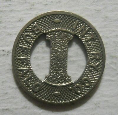 International Railway Company (Buffalo, New York) transit token - NY105D