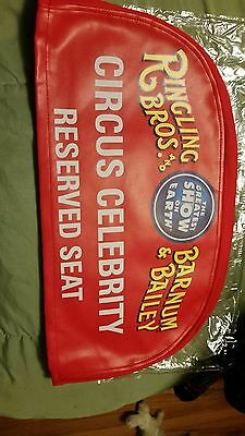 Ringling Bros Barnum & Bailey Circus Celebrity Reserved Seat Cover Program VIP