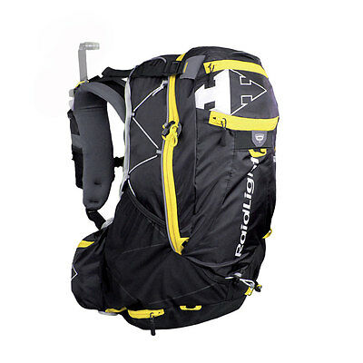 Raidlight Ultra Olmo 30 30 Liters Black   yellow Mochilas