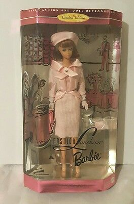 Fashion Luncheon Barbie Reproduction Mint Nrfb