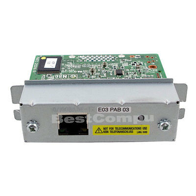 NEW Epson UB-E03 Ethernet Interface Card 10/100MB for Receipt Print Server