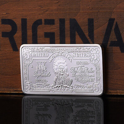 Hot Selling United States  5 USD Commemorative Block High Quality