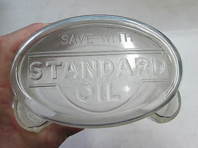 "Vintage Advertising Bank, ""Save With Standard Oil"", Original"