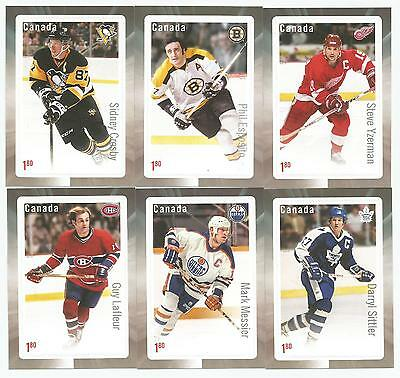 2016 Canada Post Hockey Stamp Set of 6 GREAT CANADIAN FORWARDS CROSBY  +++ MNH