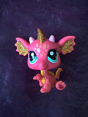 LITTLEST PETSHOP PET SHOP LPS  dragon 2484