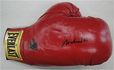 Muhammad Ali Hand Signed Autographed Red Everlast Boxing Glove OA 8414941