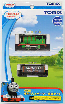 Tomix 93811 Thomas Tank Engine & Friends Percy 2 Cars Set (N scale) *PRE ORDER*