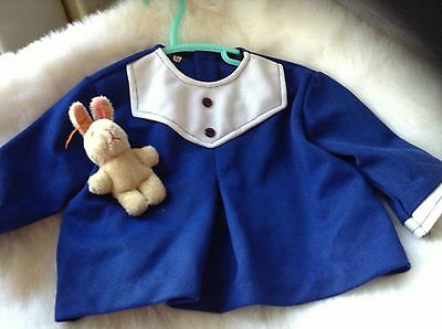 AUTHENTIC VINTAGE INFANT BABY CHILDRENS 2 PIECE ROMPER 3/6 MONTHS  70 s  UNUSED