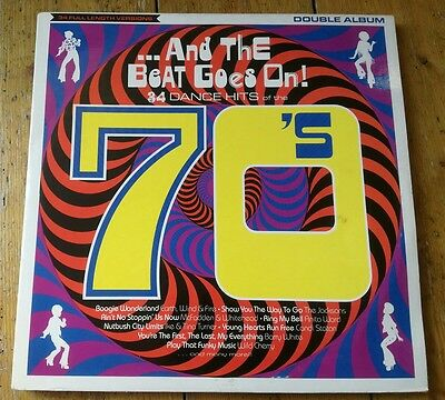 And The Beat Goes On!-34 Dance Hits Of The 70's 2Xlp Star 2338 Telstar 1988 Vg+!