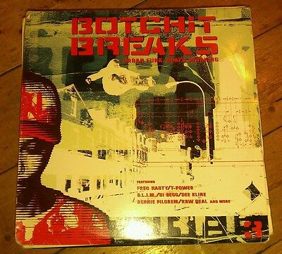 Various - Botchit Breaks Three 3Xlp Bos2Lp 008 Bochit 2000 Vg+!