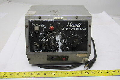 Monode 310 Electrochemical Etching Electric Power Unit