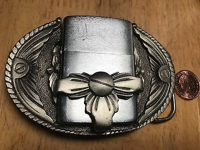 Gap Belt Buckle 1994 with Zippo Lighter B VII. Serial 3082