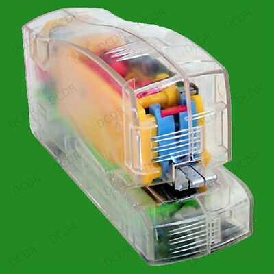 1x Automatic Electric Stapler, Battery Operated Mechanism in Transparent Casing.