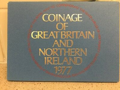 Royal Mint 1977 Coinage Of Great Britain And Northern Ireland Set