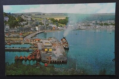 Postcard-The Pier & Bay-Rothesay-Isle of Bute-Scotland-Colourmaster PT35152