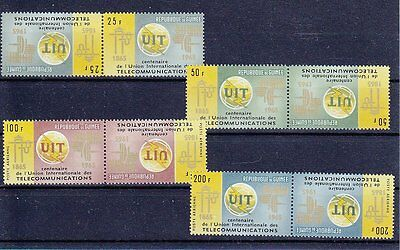 Guinea 1965  Uit  Set In Tete - Beche  Mnh **  Not Common