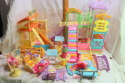 Barbie Kelly Playground~Jungle Gym~Petting Zoo~Chairs~MORE~Lot 30pcs