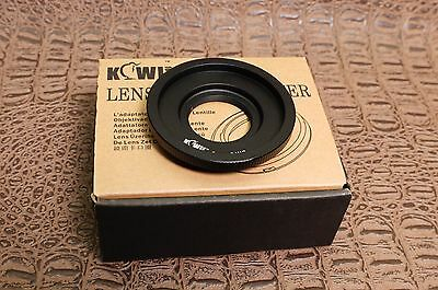 C Mount Lens to M 4/3 Body adapter - Micro Four Thirds Panasonic & Olympus