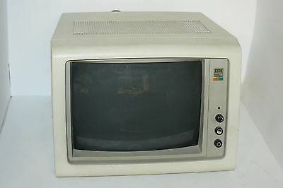 Vintage IBM 5153 CGA Color Monitor BEAUTIFUL PICTURE!