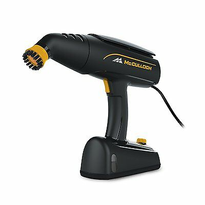 McCulloch MC1245 Rotary Scrubbing Variable Setting Rugged Handheld Steam Cleaner