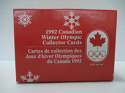 1992 Canadian Winter Olympic Collector Cards Complete Set Of 200 Trading Cards