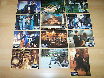 DEMOLITION MAN - 12 lobby cards ´93 SYLVESTER STALLONE Wesley Snipes BULLOCK