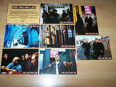 LOCK, STOCK AND TWO SMOKING BARRELS  8 lobby cards ´98 Guy Ritchie JASON STATHAM
