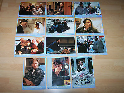 WHILE YOU WERE SLEEPING - set of 12 lobby cards ´95 - SANDRA BULLOCK