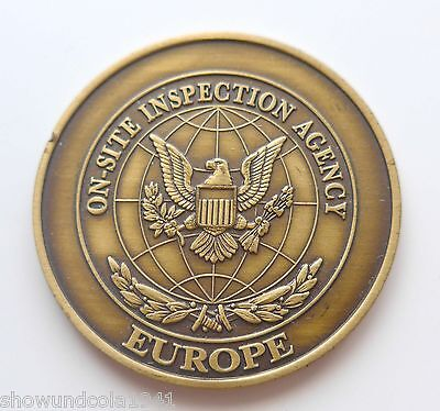 Coin Medaille --OSIA-- On Site Inspection Agency