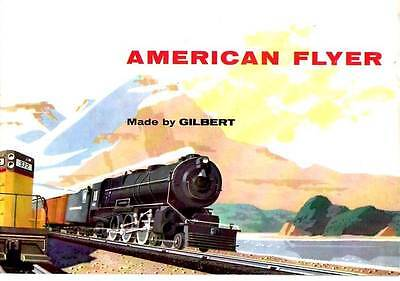 American Flyer Trains Vintage Brochure / Catalog from 1956