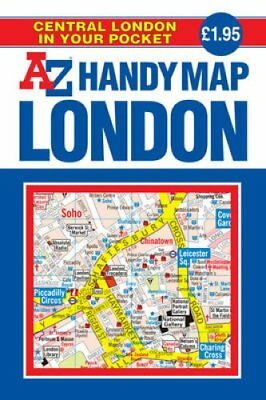Handy Map of Central London 9781843484738 (Paperback, 2007)