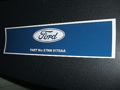 #NEW# DIESEL FILTER DECAL FOR CLASSIC FORD 2000/3000/4000/5000/7000 etc TRACTORS