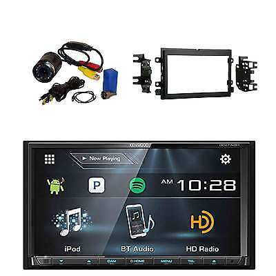 2-Din BT Receiver & HD Radio with Metra Radio Installation Kit & PYLE Camera