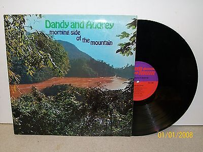 LP: Dandy & Audrey; Morning Side of the Mountain; UK Original Down Town TBL 118
