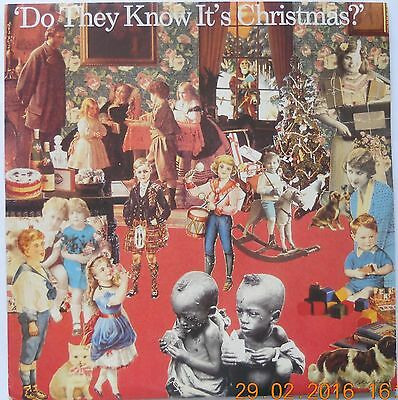 """BAND AID Do They Know It's Christmas? 1985 UK vinyl 12"""" SINGLE EXCELLENT CONDITI"""