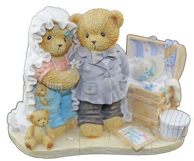 Cherished Teddies Today Is the Day We've Been Dreaming Of Bride & Groom 4000822