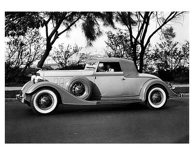 1934 Lincoln Roadster Factory Photo ub3232