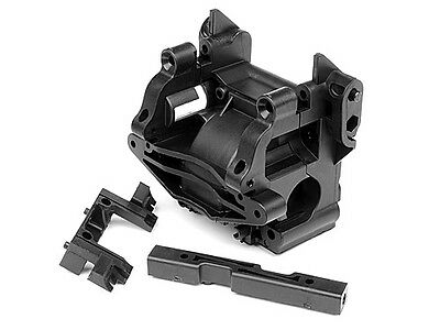 Hpi Racing Savage Flux Hp Gt-2 102272 Composite Gear Box/bulkhead Set