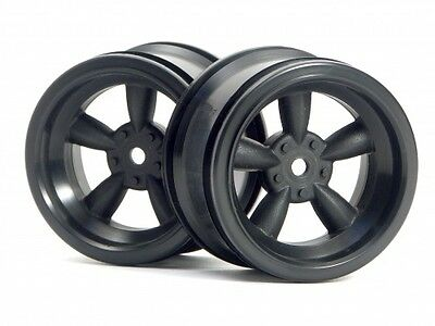 Hpi Sprint 2 Flux Bmw M3 3821 Vintage 5 Spoke Wheel 31Mm Wide Black 6Mm Offset