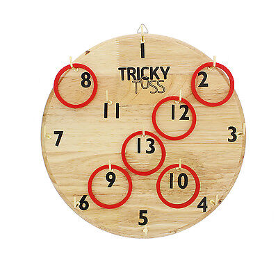 Get Out!™ Tricky Toss Game of Numbers, Hooks and Rings