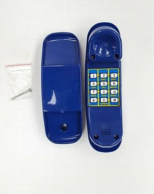TELEPHONE ~ BLUE Cubby House Accessories Playground Equipment Fort