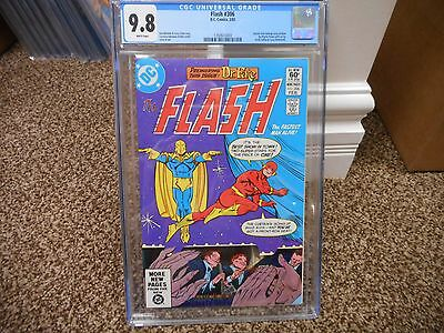 Flash 306 cgc 9.8 DC 1982 Doctor Fate begins WHITE pages TV show JLA movie MINT