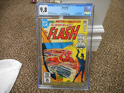 Flash 298 cgc 9.8 1st appearance of new Shade 1981 DC movie TV Firestorm WHITE p