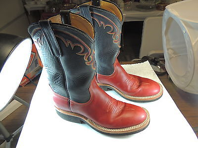 Anderson Bean Women's Size 7B  Cowhide  Western Cowgirl Boots NICE!!!